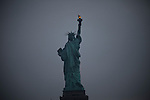 Liberty Statue in New York, United States. 5/5/2012.  Photo by Eduardo Munoz Alvarez / VIEWpress.