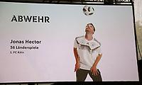 Jonas Hector (1. FC Köln) ist für den WM Kader nominiert - 15.05.2018: Vorläufige WM-Kaderbekanntgabe, Deutsches Fußballmuseum Dortmund