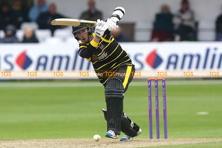 Ian Cockbain in batting action for Gloucestershire during Essex Eagles vs Gloucestershire, Royal London One-Day Cup Cricket at The Cloudfm County Ground on 4th May 2017
