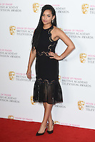 Georgina Campbell<br /> in the winners room at the 2016 BAFTA TV Awards, Royal Festival Hall, London<br /> <br /> <br /> &copy;Ash Knotek  D3115 8/05/2016