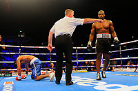 Daniel Dubois defeats Mauricio Barragan during a Boxing Show at the Copper Box Arena on 8th July 2017