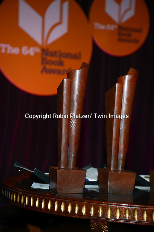 The Awards at the 2013 National Book Awards Dinner and Ceremony on November 20, 2013 at Cipriani Wall Street in New York City.