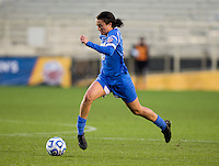 Kodi Lavrusky (10) of UCLA brings the ball forward during the NCAA Women's College Cup finals at WakeMed Soccer Park in Cary, NC.  UCLA defeated Florida State, 1-0, in overtime.