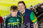 Kerry fans Colin and Margaret Griffin, Killorglin, pictured at the Kerry v Cork Munster Final held at Páirc Uí Chaoimh, Cork, on Saturday evening last.​
