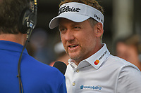 Ian Poulter (GBR) is interviewed after winning the Houston Open, Golf Club of Houston, Houston, Texas. 4/1/2018.<br /> Picture: Golffile | Ken Murray<br /> <br /> <br /> All photo usage must carry mandatory copyright credit (&copy; Golffile | Ken Murray)