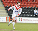 03/05/2008   Copyright Pic: James Stewart.File Name : sct_jspa08_airdrie_v_raith.BOBBY DONNELLY CELEBRATES AFTER HE SCORES AIRDRIE'S SECOND.James Stewart Photo Agency 19 Carronlea Drive, Falkirk. FK2 8DN      Vat Reg No. 607 6932 25.Studio      : +44 (0)1324 611191 .Mobile      : +44 (0)7721 416997.E-mail  :  jim@jspa.co.uk.If you require further information then contact Jim Stewart on any of the numbers above........