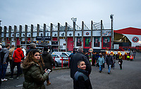 Sheffield United fans arrive at the ground <br /> <br /> Photographer Alex Dodd/CameraSport<br /> <br /> The Premier League - Sheffield United v Manchester United - Sunday 24th November 2019 - Bramall Lane - Sheffield<br /> <br /> World Copyright © 2019 CameraSport. All rights reserved. 43 Linden Ave. Countesthorpe. Leicester. England. LE8 5PG - Tel: +44 (0) 116 277 4147 - admin@camerasport.com - www.camerasport.com