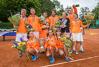 The Hague, Netherlands, 11 June, 2017, Tennis, Play-Offs Competition, Team Leimonias, Champion<br /> Photo: Henk Koster/tennisimages.com