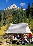 Polana Strążyska w Dolinie Strążyskiej, Tatry Zachodnie, Polska<br /> Strążyska Valley, West Tatra Mountains, Poland