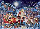 Interlitho, CHRISTMAS SANTA, SNOWMAN, WEIHNACHTSMÄNNER, SCHNEEMÄNNER, PAPÁ NOEL, MUÑECOS DE NIEVE, paintings+++++,KL6077V,#X# ,Simonetta