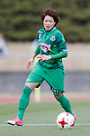 Yumi Uetsuji (Beleza), APRIL 15, 2017 - Football / Soccer : Plenus Nadeshiko League Cup 2017 Division 1 match between NTV Beleza 2-0 Niigata Albirex Ladies at Tama City Athletic Stadium in Tokyo, Japan. (Photo by Yusuke Nakanishi/AFLO)