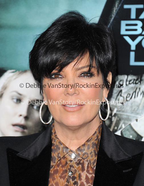 Kris Jenner attends The Warner Bros. Pictures Premiere of Unknown held at The Regency Village Theatre in Westwood, California on February 16,2011                                                                               © 2010 DVS / Hollywood Press Agency