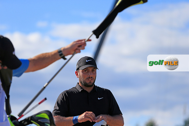 Francesco MOLINARI (ITA) walks off the 4th tee during Friday's Round 2 of the 2015 U.S. Open 115th National Championship held at Chambers Bay, Seattle, Washington, USA. 6/20/2015.<br /> Picture: Golffile | Eoin Clarke<br /> <br /> <br /> <br /> <br /> All photo usage must carry mandatory copyright credit (&copy; Golffile | Eoin Clarke)
