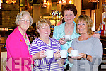 Pictured at the Active Heart Coffee Morning at the Brogue Inn on Thursday were: Chris Griffin, Rita O'Sullivan, Therese Collins and Geraldine Tuohy.