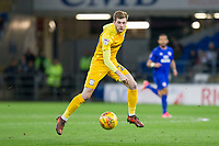 Tom Barkhuizen of Preston North End during the Sky Bet Championship match between Cardiff City and Preston North End at the Cardiff City Stadium, Cardiff, Wales on 29 December 2017. Photo by Mark  Hawkins / PRiME Media Images.