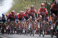 The Team Lotto-Soudal Train<br /> <br /> 56th De Brabantse Pijl - La Flèche Brabançonne (1.HC)