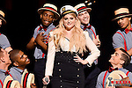 LOS ANGELES, CA - MARCH 29:  Singer Meghan Trainor performs onstage during the 2015 iHeartRadio Music Awards which broadcasted live on NBC from The Shrine Auditorium on March 29, 2015 in Los Angeles, California.  (Photo by Kevin Winter/Getty Images for iHeartMedia) *** Local Caption *** Meghan Trainor
