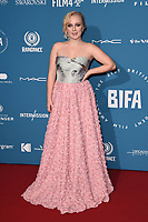 LONDON, UK. December 02, 2018: Alexa Davies at the British Independent Film Awards 2018 at Old Billingsgate, London.<br /> Picture: Steve Vas/Featureflash