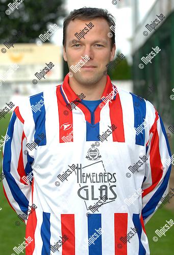 2007-08-18 / Voetbal / KFC Racing Mol Wezel / Steven Ooms