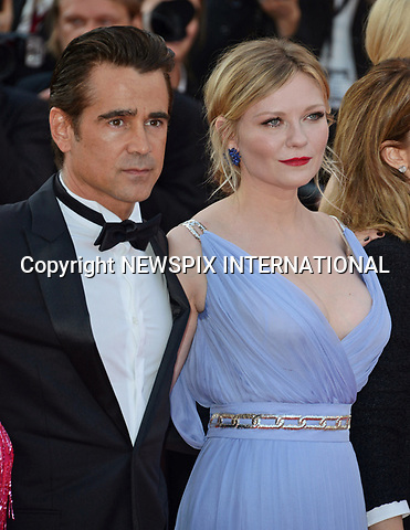 24.05.2017; Cannes, France: KIRSTEN DUNST AND COLIN FARRELL<br /> attends the screening of &ldquo;The Beguiled&rdquo; at the 70th Cannes Film Festival, Cannes<br /> Mandatory Credit Photo: &copy;NEWSPIX INTERNATIONAL<br /> <br /> IMMEDIATE CONFIRMATION OF USAGE REQUIRED:<br /> Newspix International, 31 Chinnery Hill, Bishop's Stortford, ENGLAND CM23 3PS<br /> Tel:+441279 324672  ; Fax: +441279656877<br /> Mobile:  07775681153<br /> e-mail: info@newspixinternational.co.uk<br /> Usage Implies Acceptance of Our Terms &amp; Conditions<br /> Please refer to usage terms. All Fees Payable To Newspix International