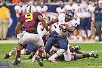 Syracuse Orange running back Jerome Smith (45) in action during the Texas Bowl game between the Syracuse Orange and the Minnesota Golden Gophers at the Reliant Stadium in Houston, Texas. Syracuse leads Minnesota 7 to 3 at halftime.