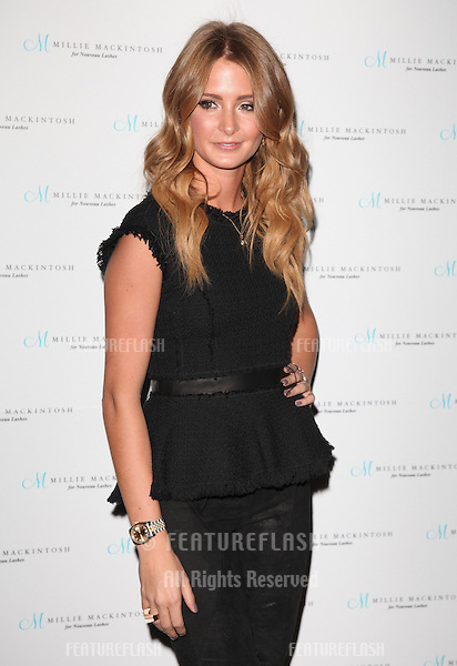 Millie Mackintosh arriving for the Nouveau Lashes Launch, London.  18/09/2012 Picture by: Alexandra Glen / Featureflash