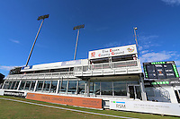 Blues skies over the Premier Suite during Essex CCC vs Glamorgan CCC, Specsavers County Championship Division 2 Cricket at the Essex County Ground on 12th September 2016