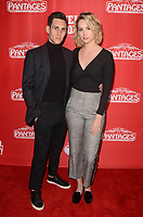 "LOS ANGELES - JAN 30:  John Krause, Molly McCook at the ""Hello Dolly!"" Los Angeles Opening night at the Pantages Theater on January 30, 2019 in Los Angeles, CA"