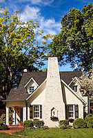 Part of a photography collection showing the variety of architectural styles of homes, apartments and condos in metropolitan Charlotte, NC. Image taken in Eastover Neighborhood - Biltmore Drive and Scotland Ave.
