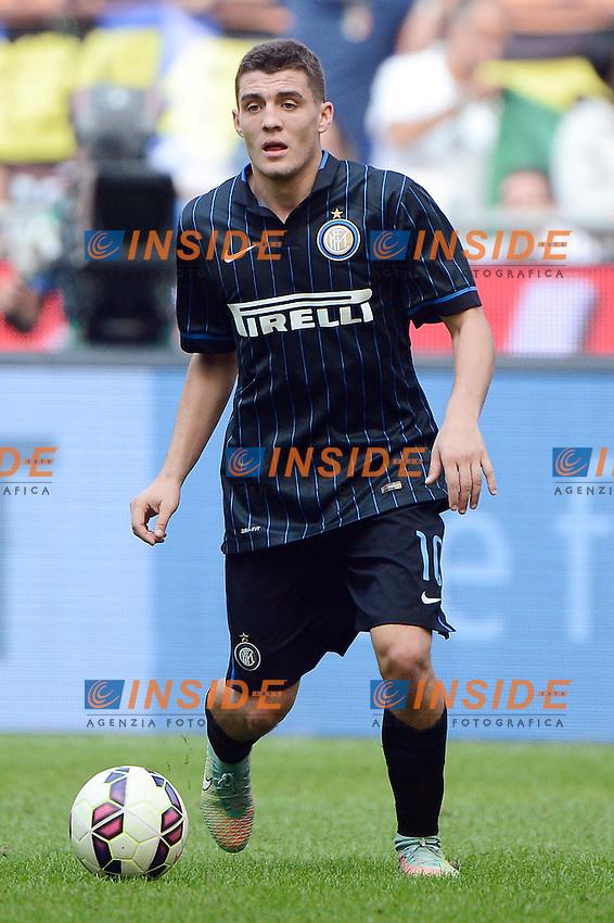 Mateo Kovacic Inter<br /> Milano 28-09-2014 Stadio Giuseppe Meazza - Football Calcio Serie A Inter - Cagliari. Foto Giuseppe Celeste / Insidefoto