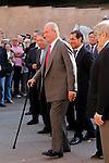 King Juan Carlos I of Spain during the bullfight Press. May 20 ,2015. (ALTERPHOTOS/Acero)