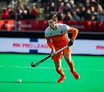 ROTTERDAM - Lars Balk (NED)   tijdens   de Pro League hockeywedstrijd heren, Nederland-Spanje (4-0) . COPYRIGHT KOEN SUYK