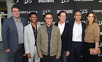 "NORTH HOLLYWOOD, CA - MAY 15: Joel Church-Cooper, Tyrel Jackson Williams, Fred Armisen, Kyle MacLachlan, Hank Azaria, Amanda Peet, at IFC Hosts ""Brockmire"" And ""Portlandia"" EMMY FYC Red Carpet Event at Saban Media Center at the Television Academy, Wolf Theatre in North Hollywood, California on May 15, 2018. Credit: Faye Sadou/MediaPunch"