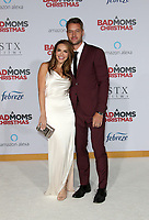WESTWOOD, CA - OCTOBER 30: Chrishell Stause, Justin Hartley, at Premiere Of STX Entertainment's 'A Bad Moms Christmas' At The Regency Village Theatre in Westwood, California on October 30, 2017. Credit: Faye Sadou/MediaPunch
