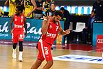 Elias HARRIS (BA) freut sich <br /> ueber Punkte.<br /> <br /> Basketball 1.Bundesliga,BBL, nph0001-Finalturnier 2020.<br /> Viertelfinale am 18.06.2020.<br /> <br /> BROSE BAMBERG-EWE BASKETS OLDENBURG 81-86.<br /> Audi Dome<br /> <br /> Foto:Frank Hoermann / SVEN SIMON / /Pool/nordphoto<br /> <br /> National and international News-Agencies OUT - Editorial Use ONLY