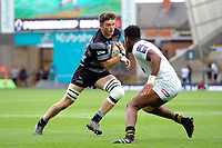 Glen Young of Newcastle Falcons. Premiership Rugby 7s (Day 2) on July 28, 2018 at Franklin's Gardens in Northampton, England. Photo by: Patrick Khachfe / Onside Images
