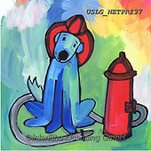 Nettie,REALISTIC ANIMALS, REALISTISCHE TIERE, ANIMALES REALISTICOS, paintings+++++firefighter,USLGNETPRI37,#A#, EVERYDAY pop art