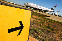 Charlotte-Douglas International Airport, one of US Airways' largest hubs, serves 10 major airlines, including Air Canada, Air Tran, American, Continental, Delta, JetBlue, Lufthansa, Northwest and United. ..The airport is the nation?s 10th largest in terms of total operations, the 18th largest in terms of total passengers and the 37th largest in terms of cargo. Charlotte-Douglas serves 640 daily flights, including direct flights to 120 cities. ..PatrickSchneiderPhoto.com has hundreds of images from Charlotte-Douglas International Airport, including aerials....