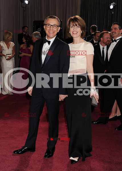 PAP0213JP424.85th Annual Academy Awards - Arrivals .Christoph Waltz