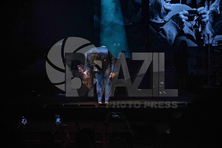 """São Paulo (SP), 16/04/2019 - Show / Daniel - O cantor Daniel faz show """"Versões de Mim"""", no Teatro Bradesco, em São Paulo, nesta terça-feira, 16. (Foto: Bruna Grassi / Brazil Photo Press)"""