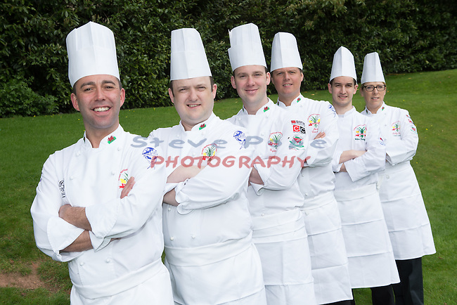 Welsh Culinary Team 2016<br /> 18.04.16<br /> &copy;Steve Pope - Fotowales