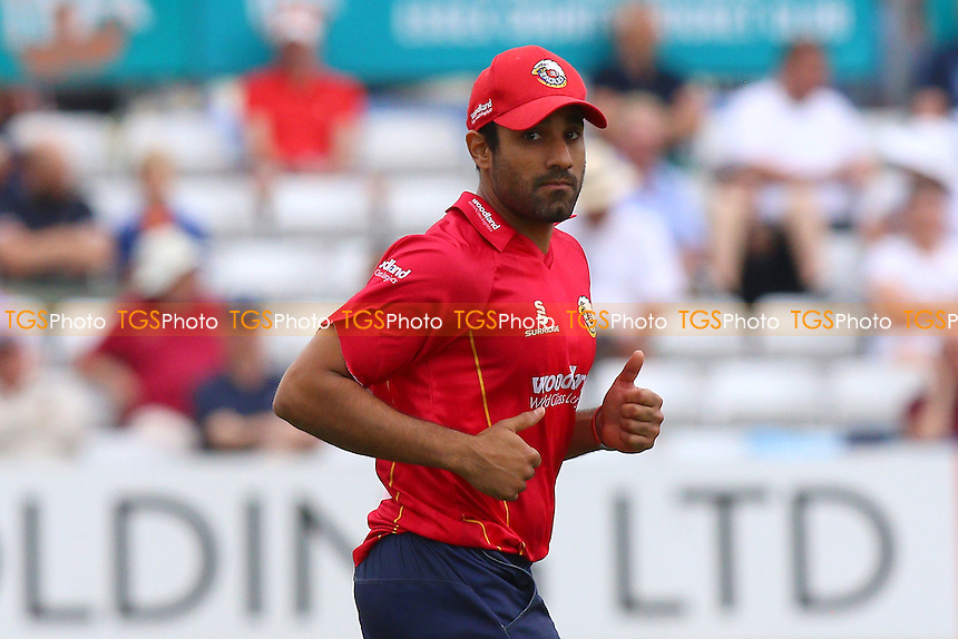 Essex skipper Ravi Bopara during Essex Eagles vs Glamorgan, Royal London One-Day Cup Cricket at the Essex County Ground on 26th July 2016