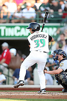 Dayton Dragons Henry Rodriquez during the Midwest League All Star Game at Parkview Field in Fort Wayne, IN. June 22, 2010. Photo By Chris Proctor/Four Seam Images