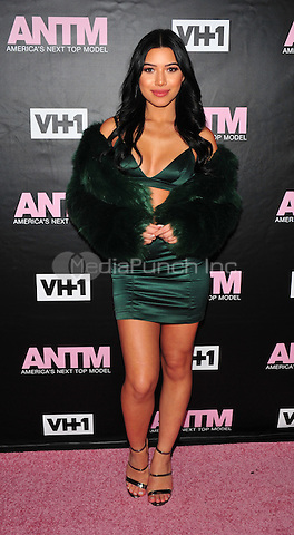 New York, NY: December 8: Juliette Kelly attends the VH1 America's Next Top Model premiere party at Vandal on December 8, 2016 in New York City.@John Palmer / Media Punch
