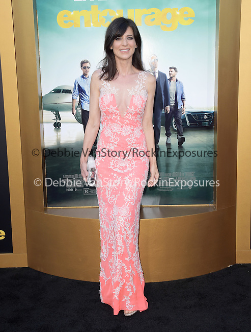 Perrey Reeves  attends The Warner Bros. Pictures' L.A. Premiere of Entourage held at The Regency Village Theatre  in Westwood, California on June 01,2015                                                                               © 2015 Hollywood Press Agency