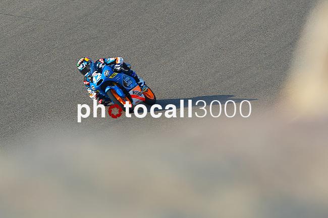 Gran Premio Movistar de Aragón<br /> during the moto world championship in Motorland Circuit, Aragón<br /> alex marquez<br /> PHOTOCALL3000