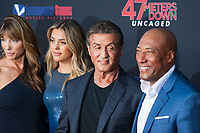 Los Angeles, CA - AUGUST 13th: <br /> Sylvester Stallone attends the 47 Meters Down: Uncaged premiere at the Regency Village Theater on August 13th 2019. Credit: Tony Forte/MediaPunch
