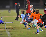 The Panthers vs. The Buccaneers in Oxford Park Commission flag football, at FNC Park in Oxford, Miss. on Thursday, November 21, 2013.