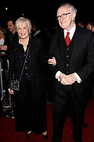 LONDON, ENGLAND - FEBRUARY 09 :  Glenn Close and Jonathan Pryce arrive at the Charles Finch and Chanel pre-BAFTA party at Loulou's on February 09, 2019 in London, England.<br /> CAP/AH<br /> &copy;Adam Houghton/Capital Pictures