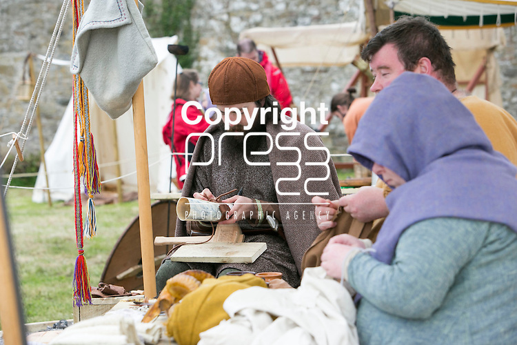 The Re-Enactment Camp at The Brian Boru Festival in Killaloe/Ballina during the Commemoration Weekend.<br /> Pictured Credit Brian Gavin Press 22